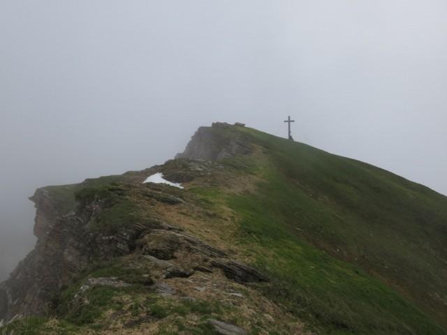 Hammerspitze vom Grat aus