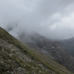 Am Steig zur Scharte zwischen Hammerspitze und Kichdachspitze