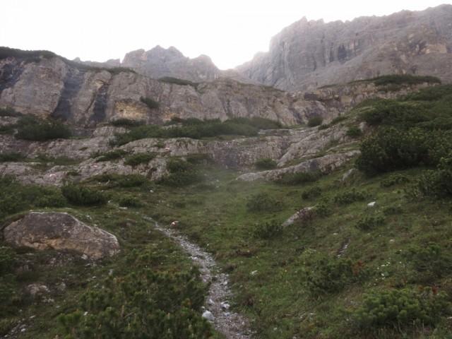 die obere Steilstufe