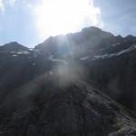 noch ca. 150Hm bis zum Silbergrat auf 2.750m