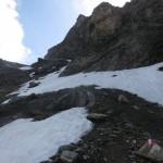 Gipfelaufbau nd Anstieg zum Silbersattel