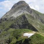 Hammerspitze von Süden nach Norden gesehen