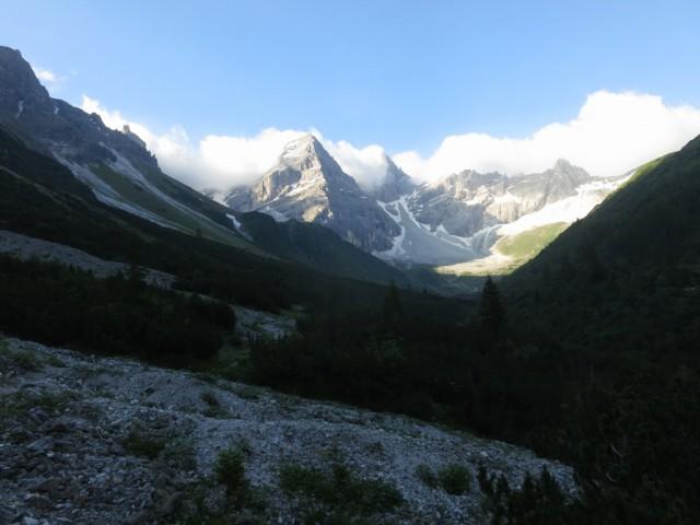 Anstieg zur Tribulaunhütte