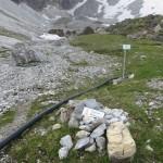 Abzweigung links ins Obernbergtal