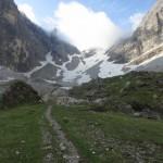 Steig nach der Tribulaunhütte ins Schneetal