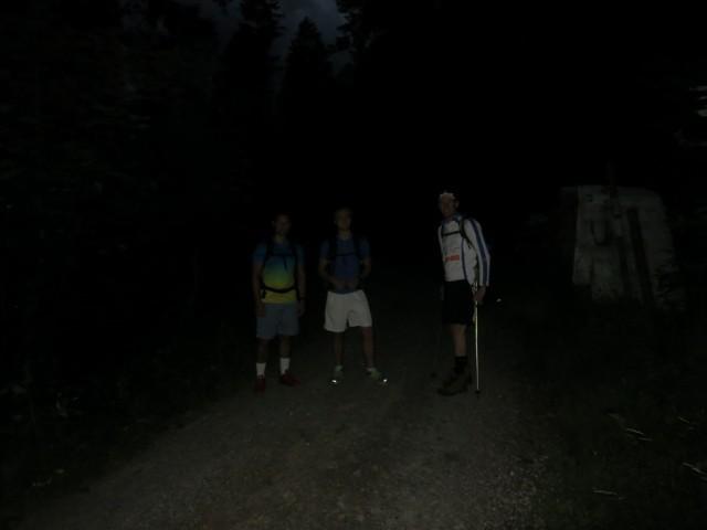 Abmarsch um 5 Uhr von der Karwendelrast