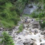 Brücke vor dem Lochhüttl