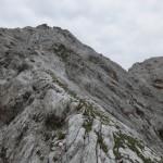 Südgrat auf die Westliche Praxmarerkarspitze