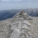 Gipfel der Westliche Praxmarerkarspitze
