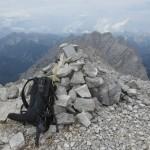 Gipfel Westliche Praxmarerkarspitze, 2642m