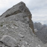 die Östliche Praxmarerkarspitze mit Nordwand