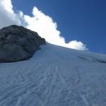 Wildlahnerscharte, Blick auf den Olperer Nordgrat