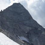 der Fussstein, ein gewaltiger Gipfel mit sehr schwierigen Kletteranstiegen