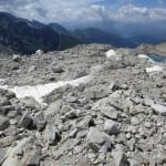 Blockwerk unterhalb der heutigen Eisgrenze