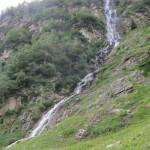 einer der zahlreichen Wasserläufe, dieser Wasserfal gut 150Hm hoch