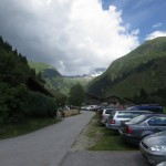 Parkplatz beim Gh. Touristenrast