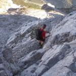 Abstieg vom Hundskopf über Klettersteig