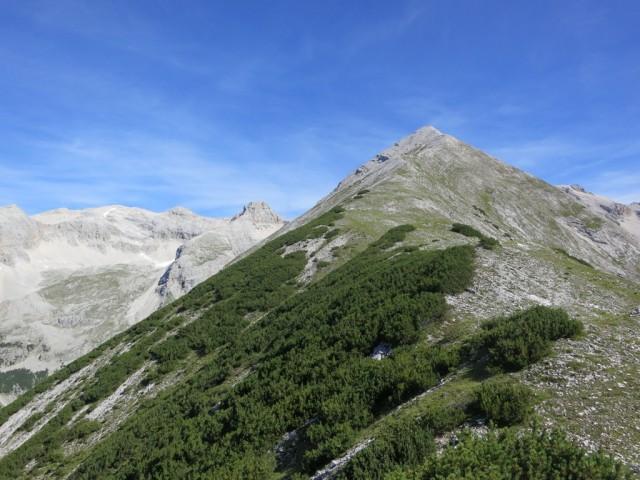 Aufstiegsgelände zum Großen Heissenkopf