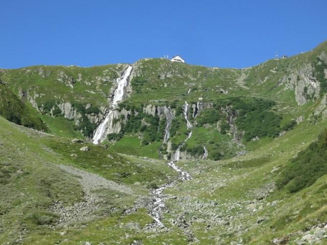 zweite Talstufe auf die Neue Regensburgerhütte