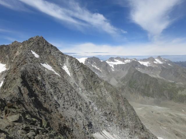 die südlichen Kühtaier Berge