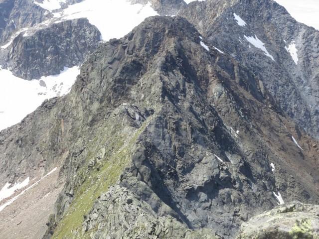 Rückblick auf die Überschreitung von der Falbesoner zur Östlichen Knotenspitze