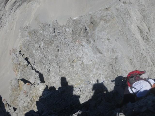 Nordabbruch am Walderkampturm; über die kleinen Türmchen gibt es keine Passage