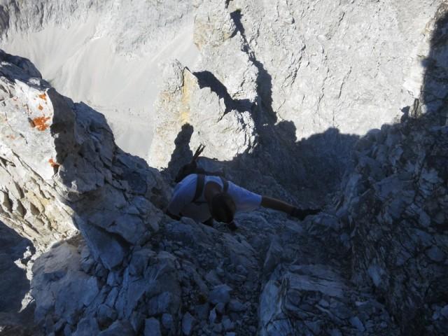 Abstieg vom Walderkampturm