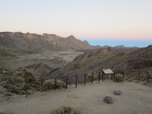 Mirador in der Caldera des Teide