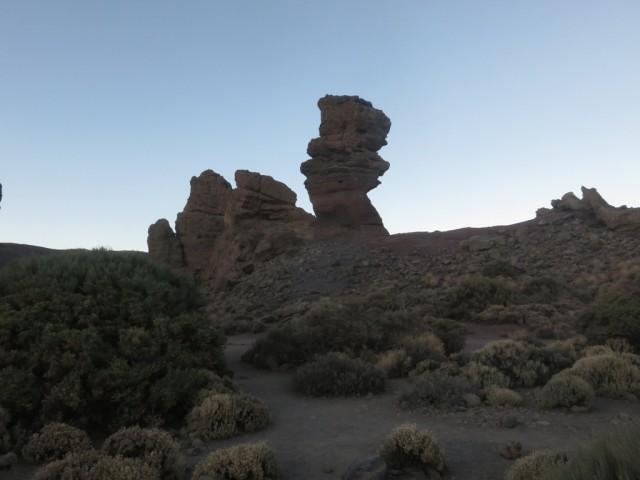 der bekannte Roque Cinchado - der versteinerte Baum oder Finger Gottes