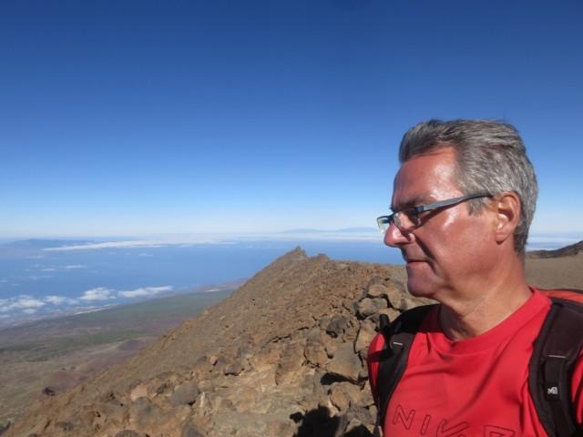 Autor am Pico Sur, 3.085m