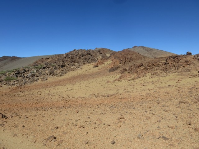 Rückblick auf den Pico Viejo