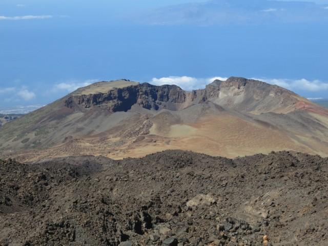 Blick auf den Krater des Pico Viejo