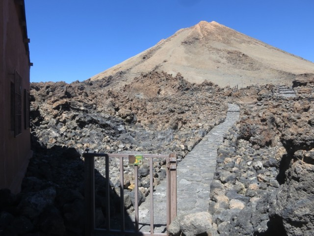 Kontrolltüre zum Gipfel