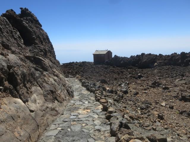 tolle Formationen am Weg zum Gipfel