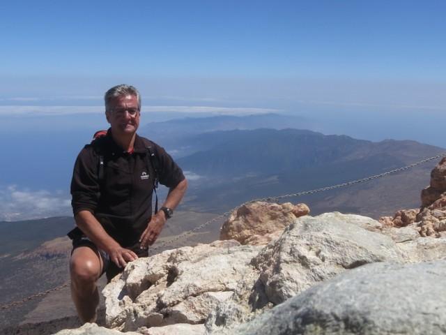 Pico Teide, 3.718m,