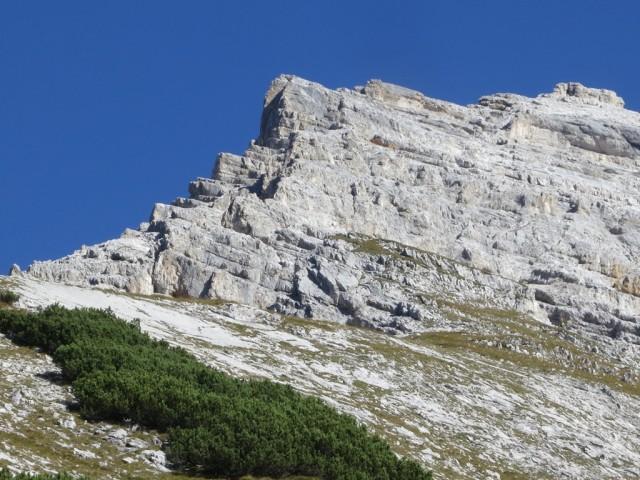 Aufstieg auf den Westgipfel des Kleiner Bettelwurf über den Südgrat