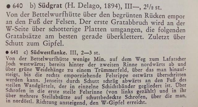 Klier Karwendelführer 1978