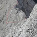 Aufstieg Suedwestflanke Kaskarspitze