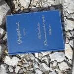 schönes Gipfelbuch Westliche Praxmarerkarspitze