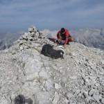 Gipfel Westliche Praxmarerkarspitze