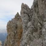 wildes Getürm in der Nordflanke der Kaskarspitze