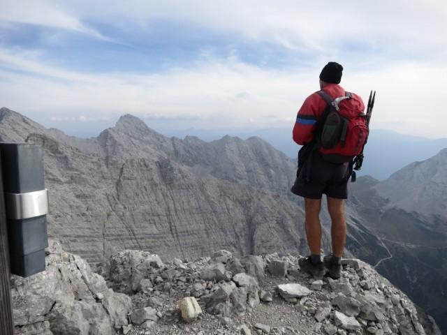 Gipfel der Kaskarspitze, 2.580m