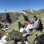 Andi am Gipfel der Naviser Sonnenspitze