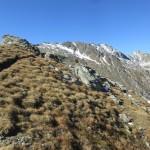 Aufstieg zur Grünbergspitze