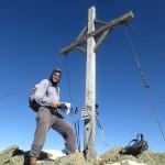 auf der Kreuzspitze, 2.746m