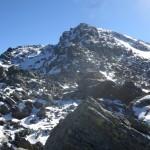 Abstieg von der Kreuzspitze