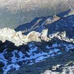 Andi knapp vor dem Gipfel der Gamslahnerspitze
