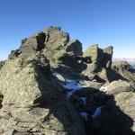 die Gamslahnerspitze ohne Gipfelkreuz