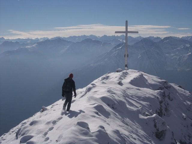 Gipfelgrat zur Hohen Munde