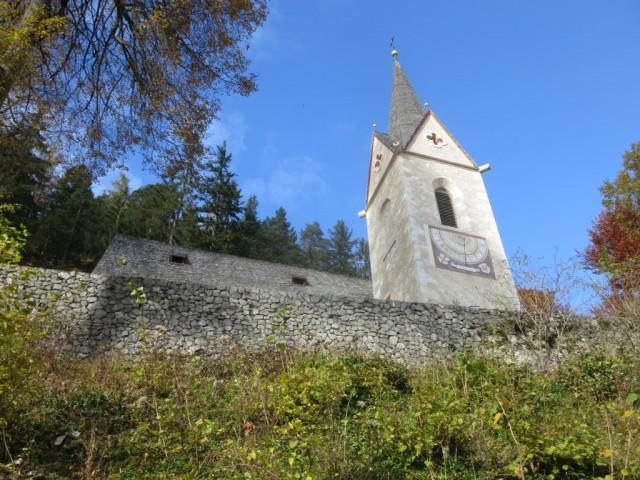 Lindenkirche oberhalb des Klosters